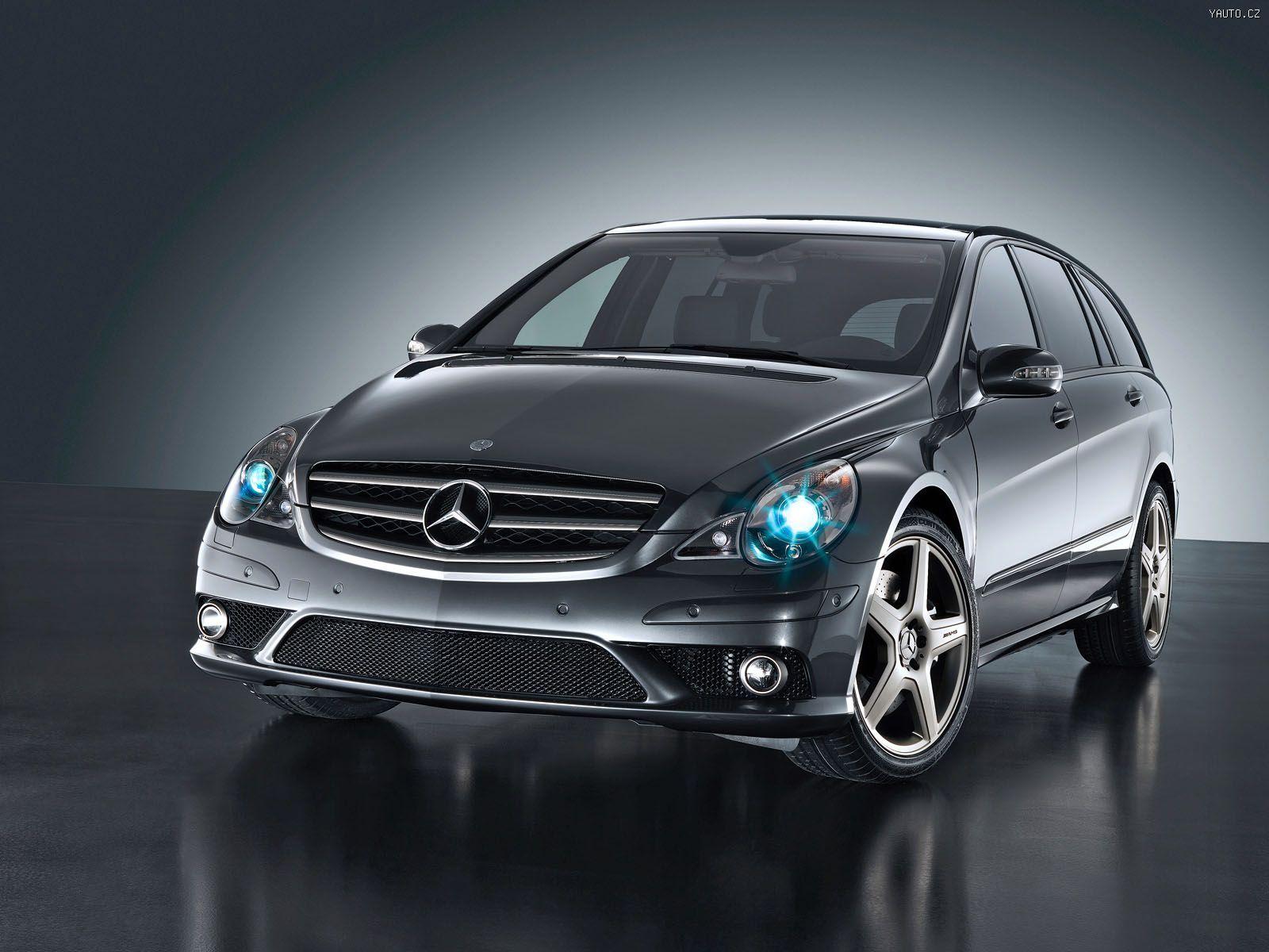 Mercedes Benz R63 AMG (2006) Auta na plochu, tapety na ...