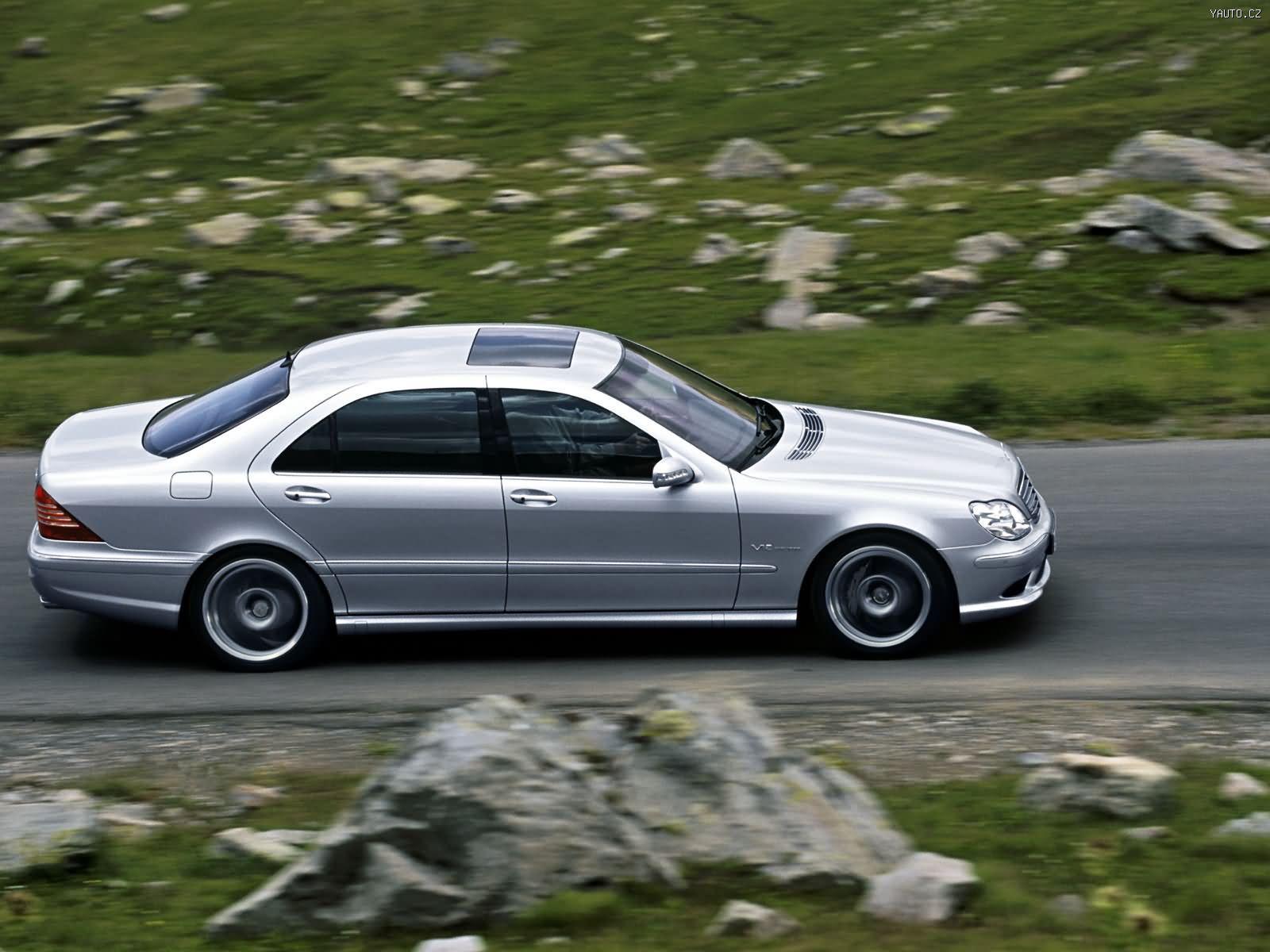 Mercedes Benz S65 Amg 2004 Auta Na Plochu Tapety Na