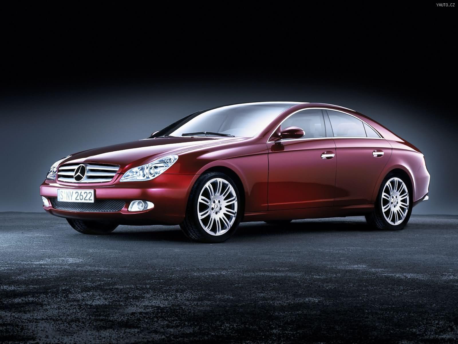 Mercedes Benz Vision Cls Concept 2003 Auta Na Plochu