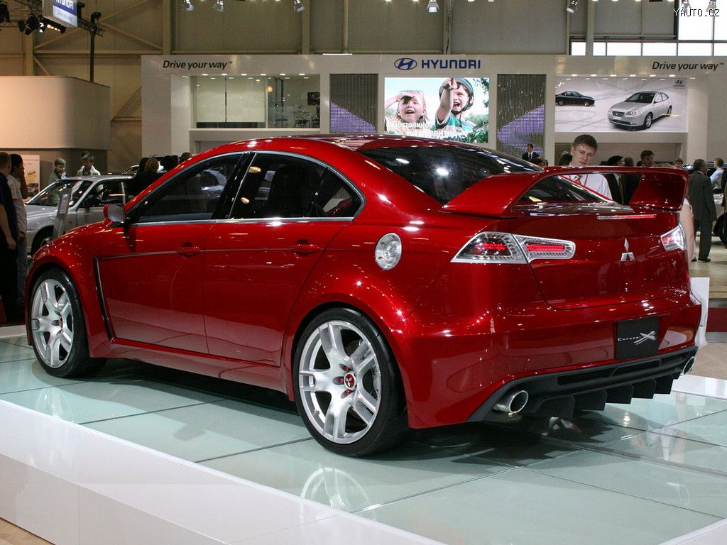 Mitsubishi Concept X Auta na plochu, tapety na plochu ...