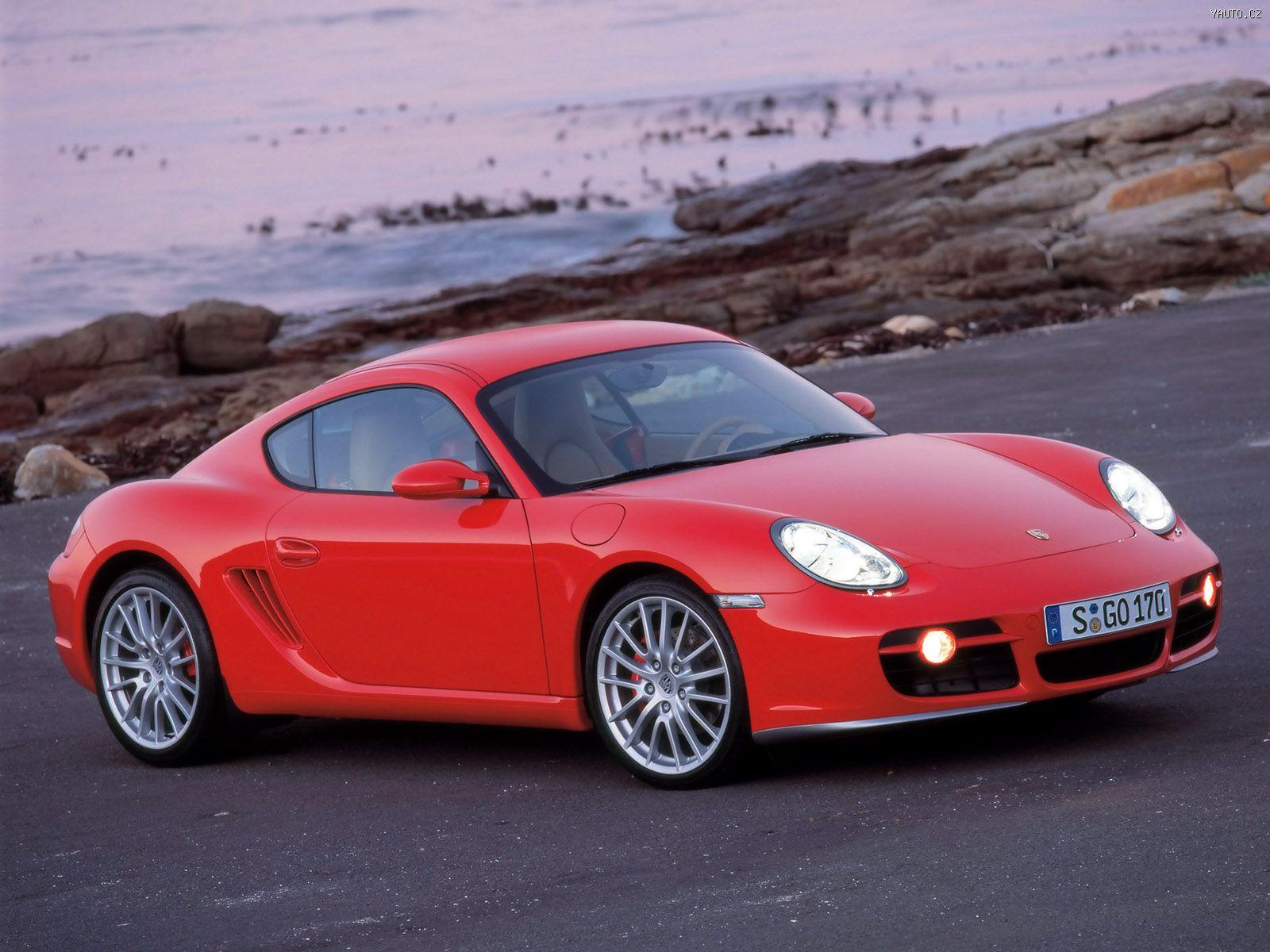 Porsche Cayman S 2005 Auta Na Plochu Tapety Na Plochu Wallpapers