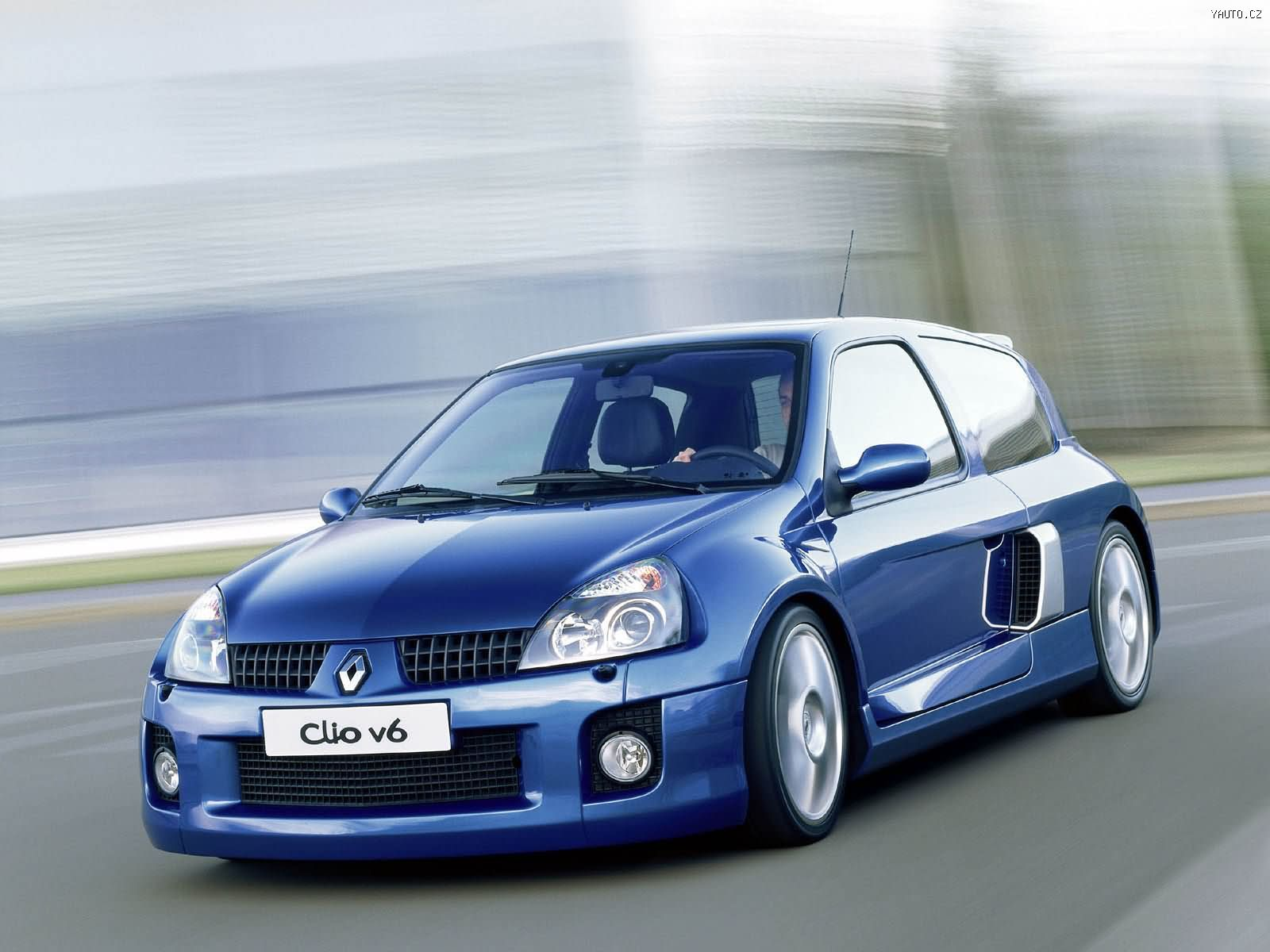 renault clio v6 sport 2003 auta na plochu tapety na plochu wallpapers. Black Bedroom Furniture Sets. Home Design Ideas