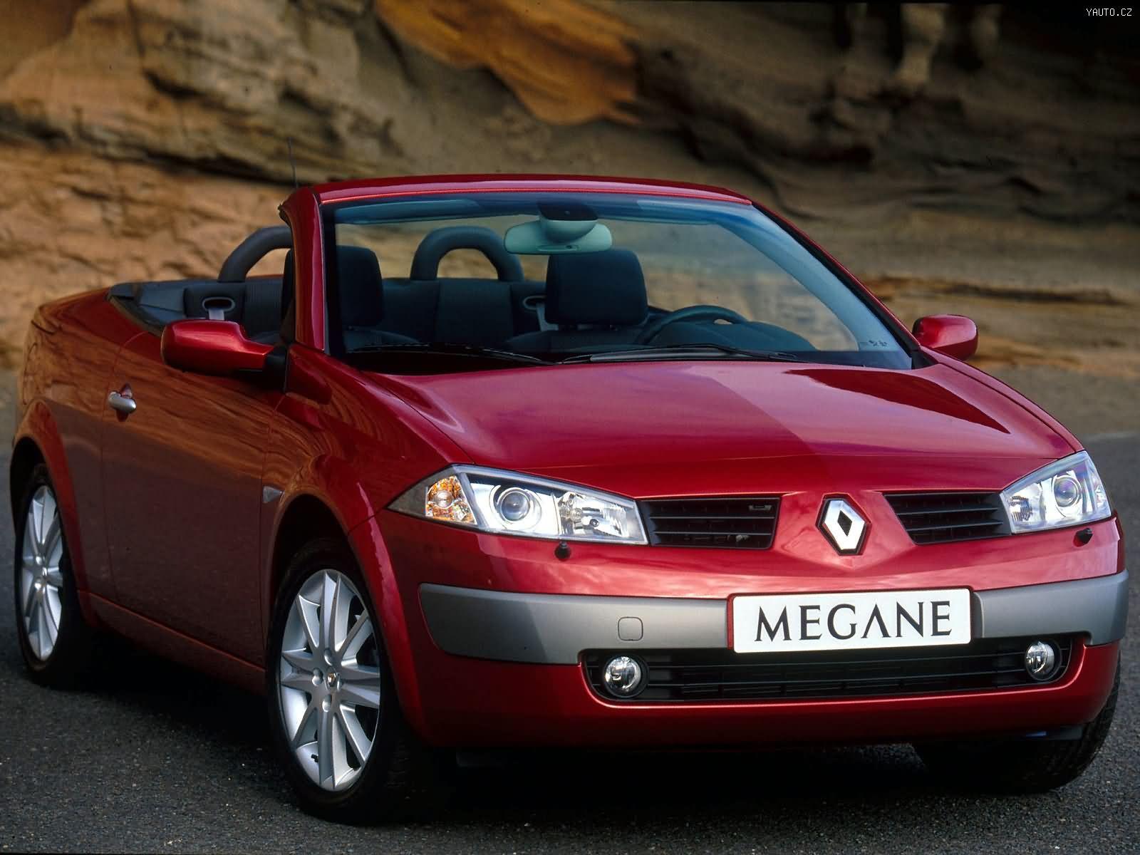 Renault Megane Sedan 2002 >> Renault Mégane II Coupé (2003) Auta na plochu, tapety na plochu, wallpapers