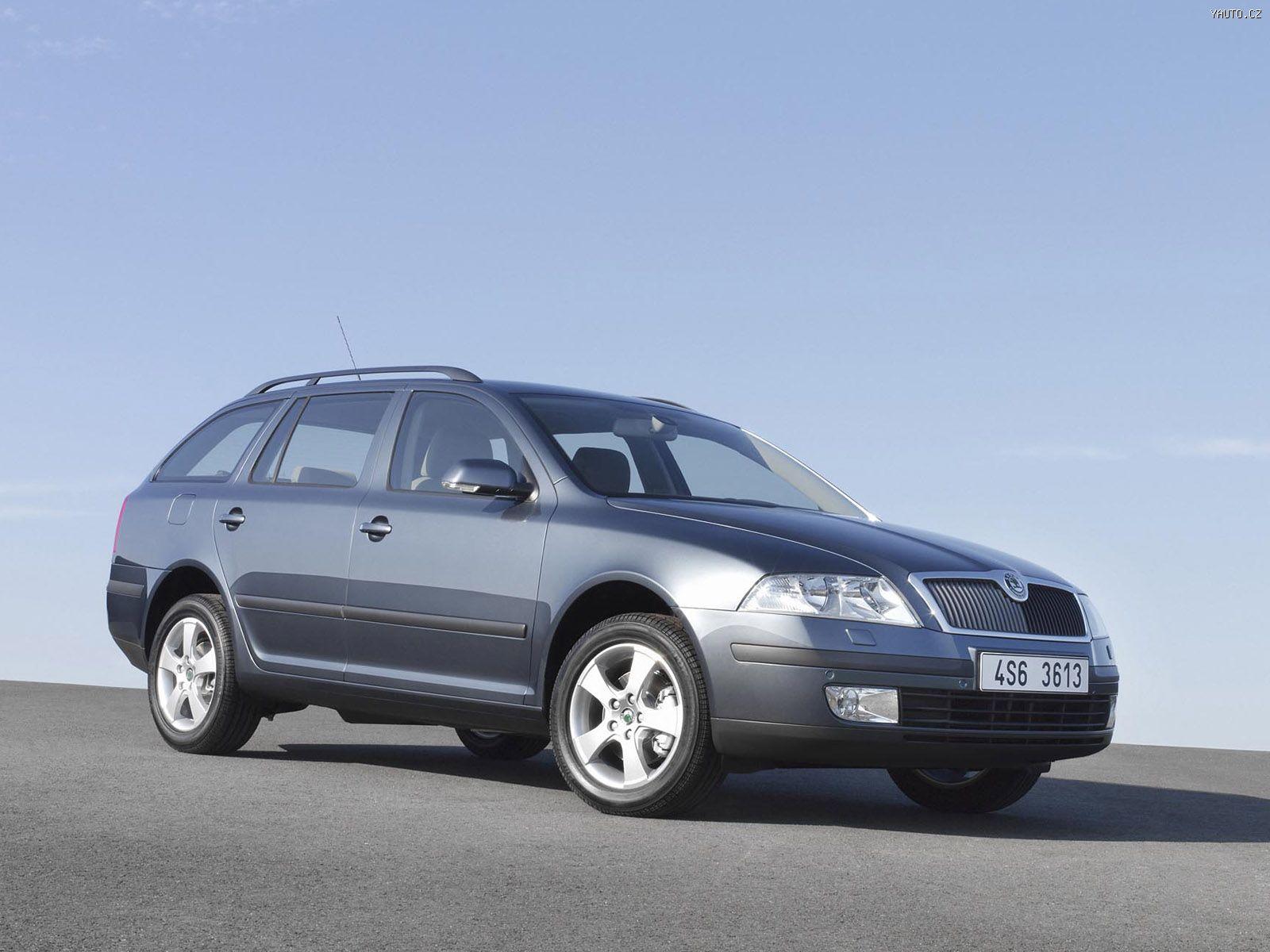 Škoda octavia ii combi 2005 auta na plochu tapety na