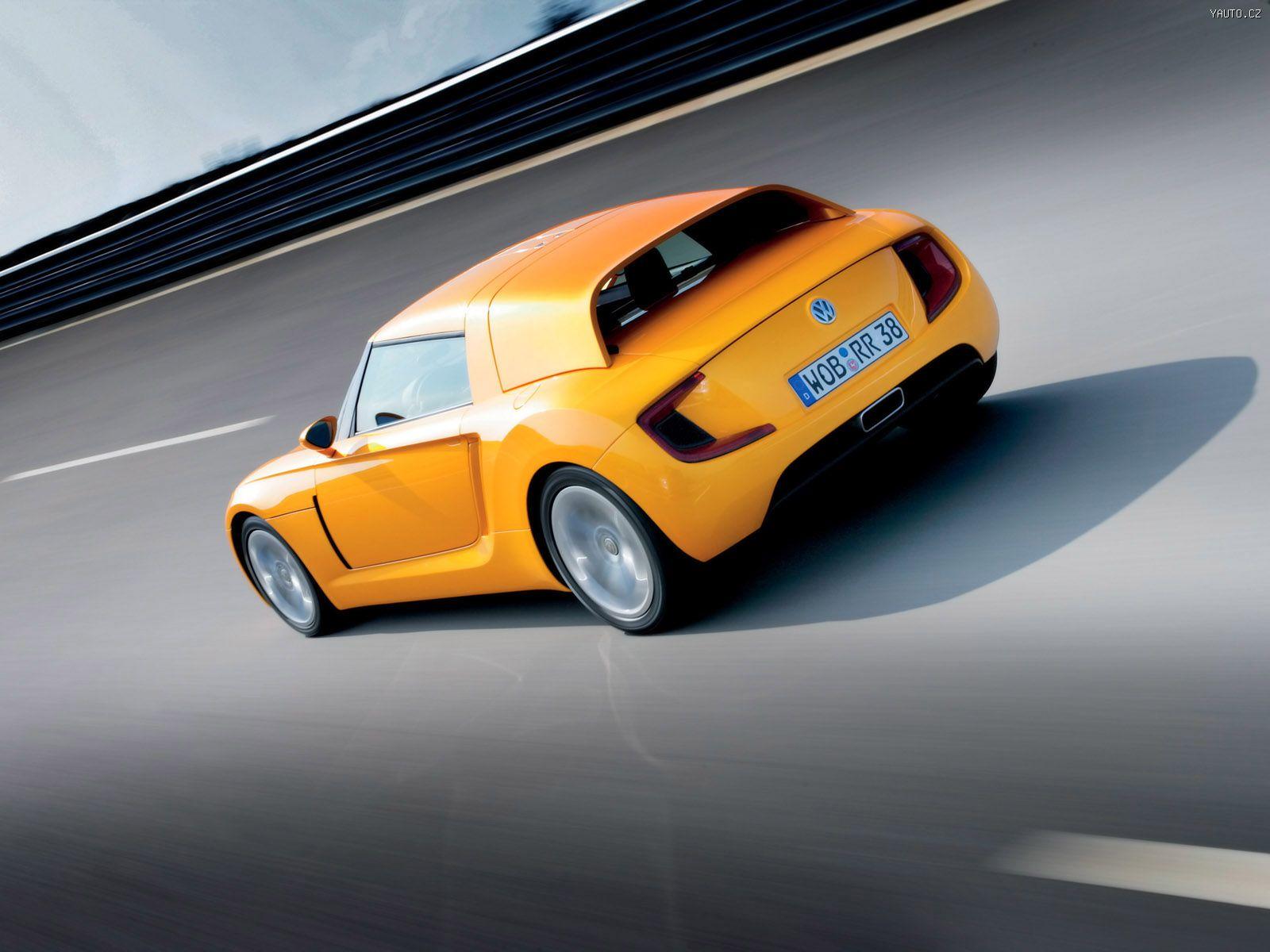 Vw Ecoracer Concept 2005 Auta Na Plochu Tapety Na